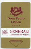 HOTEL DOM PEDRO LISBOA   llave clef key keycard hotelkarte