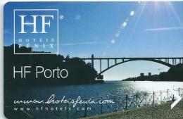 HOTEL FENIX OPORTO PORTUGAL  llave clef key keycard hotelkarte