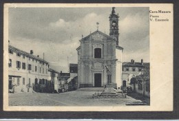 7118-CAVA MANARA(PAVIA)-PIAZZA VITTORIO EMANUELE-1949-FP - Pavia
