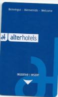 HOTEL VORA FIRA VALENCIA  llave clef key keycard hotelkarte