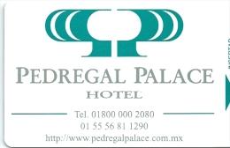 HOTEL PEDREGAL MEXICO  llave clef key keycard hotelkarte