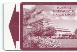 HOTEL DANUBIUS THERMAL BUDAPEST  llave clef key keycard hotelkarte