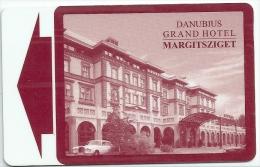 GRAND HOTEL DANUBIUS BUDAPEST  llave clef key keycard hotelkarte