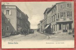 57 - CHATEAU SALINS - Nels METZ Série 130 N° 9 - Rue Des Fossés - Chateau Salins