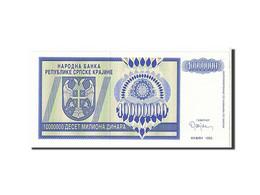 Croatie, 10 Millions Dinara Type 1993 - Croatie