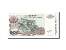 Croatie, 500 000 Dinara Type 1993 - Croatie