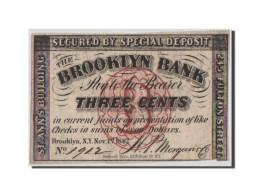 [#44687] Etats-Unis, Obsolètes, New York, Brooklyn Bank, 3 Cents 1.11.1862 - Collections