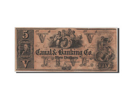 [#44751] Etats-Unis, Obsolètes, Louisiana, Canal & Banking Co., 5 Dollars 18__ - Collections
