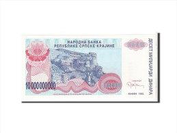 [#111609] Croatie, 10 Milliards Dinara Type 1993 - Croatia