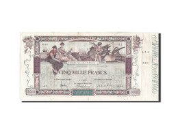 [#206598] 5000 Francs Type Flameng, 09 Janvier 1918, Fayette 43.1 - 1871-1952 Antichi Franchi Circolanti Nel XX Secolo