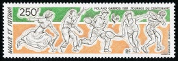 WALLIS ET FUTUNA 1991 - Yv. PA 171 ** SUP  Cote= 9,20 EUR - Roland Garros : Tennis ..Réf.W&F21667 - Luftpost