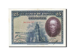 [#259382] Espagne, 25 Pesetas, Type Pedro Calderon - [ 1] …-1931 : Premiers Billets (Banco De España)