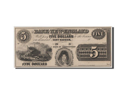 [#44738] Etats-Unis, Obsolètes, Connecticut, Bank Of New-England, 5 Dollars 18__ - Connecticut