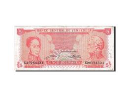[#258828] Venezuela, 5 Bolivares, Type 1989 - Venezuela