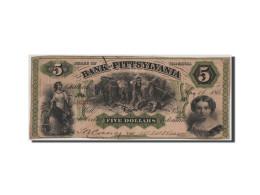 [#44583] Etats-Unis, Obsolètes, Virginie, Bank Of Pittsylvania, 5 Dollars 16.5.1861 - Etats-Unis