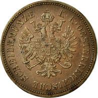 Monnaie, Autriche, Franz Joseph I, 4 Kreuzer, 1860, Kremnitz, TTB+, Cuivre - Autriche