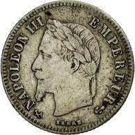 Monnaie, France, Napoleon III, Napoléon III, 20 Centimes, 1866, Bordeaux, TTB - Francia