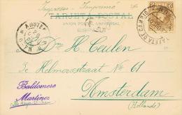 Alfonso XIII. Impreso De IRUN A AMSTERDAM (HOLANDA). Al Dorso Llegada. MAGNIFICA.. - 1889-1931 Royaume: Alphonse XIII