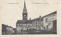 CPA 54 - BARBONVILLE - Proche Lunéville - La PLACE - Luneville