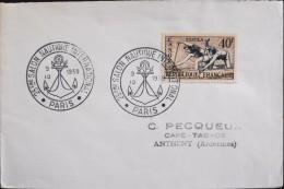 FRANCE - 1959 - 25e Salon Nautique International  - Paris Le 09.10.1959 - En TBE - - Commemorative Labels