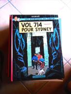 TINTIN  VOL 714 POUR SYDNEY   HERGE - Tintin