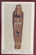 EGITTO - EGYPT OLD  POSTCARD - MUMMY OF TA- KHEB KHENEM - BRITISH MUSEUM - Storia
