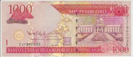Dominicana 1000 Pesos 2006 Pick 180 UNC - Dominicaine