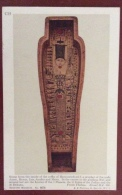 EGITTO - EGYPT OLD  POSTCARD - SCENE FROM THE COFFIN OF HERU NETCH TEF F - BRITISH MUSEUM - Storia