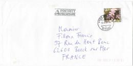 SVIZZERA - SUISSE - HELVETIA - 2007 - Centaurium Minus, Fleur - Viaggiata Da Basel Per Berck Sur Mer, France - Storia Postale