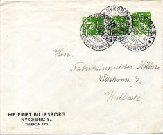 DANEMARK. N°193 De 1930 Sur Enveloppe Ayant Circulé. - Brieven En Documenten