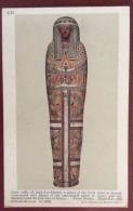 EGITTO - EGYPT OLD  POSTCARD - INNER COFFIN  OF ANKH F EN KHENSU - BRITISH MUSEUM - Storia