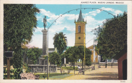 Juraz Plaza , NUEVO LAREDO , Mexico , 1910s