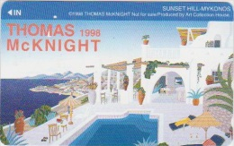 COUNTRY RELATED - JAPAN - GREECE - SUNSET HILL - MYKONOS - THOMAS MCKNICHT