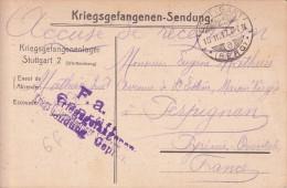 Correspondance Réf-JP-W-178 (   Allemagne )    à Identifier - Non Classificati