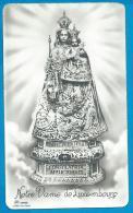 Holycard  Smal   O.L.V.     Luxemburg - Devotion Images