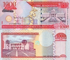 Dominicana 1000 Pesos 2009 Pick 180 UNC - Dominicaine