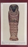 EGITTO - EGYPT OLD  POSTCARD - COFFIN OF ATHA NEB- BRITISH MUSEUM - Storia