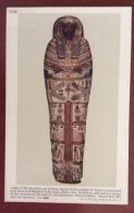 EGITTO - EGYPT OLD  POSTCARD - COFFIN OF HU EN AMEN - BRITISH MUSEUM - Storia