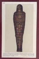 EGITTO - EGYPT OLD  POSTCARD - MUMMY OF HERU NETCH TEF - BRITISH MUSEUM - Storia