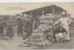 JUIL223 LO2 CPA CONGO BELGE MADIMBA LE MARCHE DE PAIN DE MANIOC SHIWANGUES BELLE ANIMATION TTB - Altri