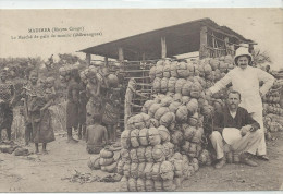 JUIL223 LO2 CPA CONGO BELGE MADIMBA LE MARCHE DE PAIN DE MANIOC SHIWANGUES BELLE ANIMATION TTB - Kongo - Kinshasa (ex Zaire)