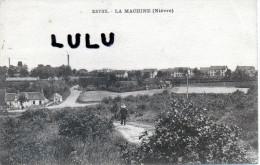 DEPT 58 :2 Scans ; La Machine ( Niévre ) Sans Légene Animé - France