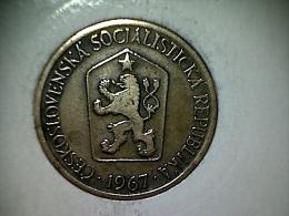 Tchecoslovaquie - 1 Koruna 1967 - Czechoslovakia