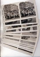 1910 - OOSTENDE (Ostende) - 6 scans ! - PARE !! - Compl set van 12 st PHOTO stereo - Bevinden zich in originele omslag !