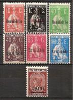 Portugal 1929 - Overprinted Set - 1910-... Republic