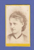 4616 / CDV-Photo - Portrait, Junge Dame Um 1890 - Anonyme Personen