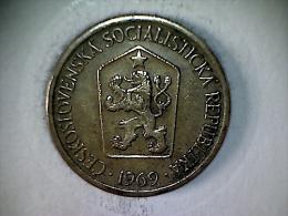 Tchecoslovaquie - 1 Koruna 1969 - Czechoslovakia