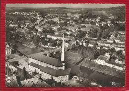 France - Dépt 54  - BACCARAT - Vue Générale Aérienne  - En 1er Plan L'Eglise Et Le Pont Sur La Meurthe - Photo Véritable - Baccarat
