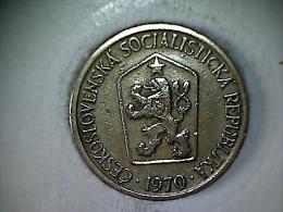 Tchecoslovaquie - 1 Koruna 1970 - Czechoslovakia