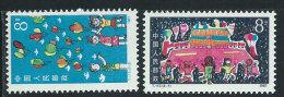 Cina Nuovo** 1987 - Mi.2123/24 - 1949 - ... Repubblica Popolare